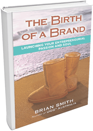 Birth of a Brand Book Cover - Brian Smith